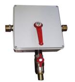 Переключатель чистая/оборотная вода механический